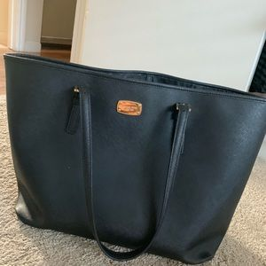 Michael Kors Black Tote Bag Purse
